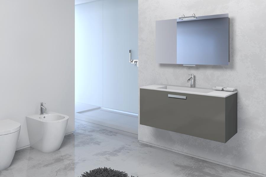 Foster bagno mobili bagno foster monoblocco moderno trendy 05 - Monoblocco bagno ...