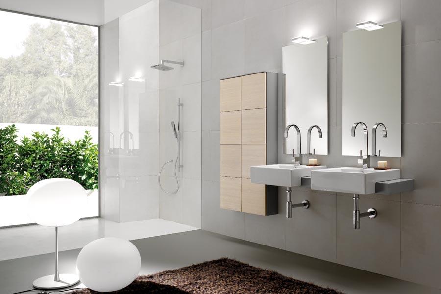 Foster bagno u2013 trasparenze grigio