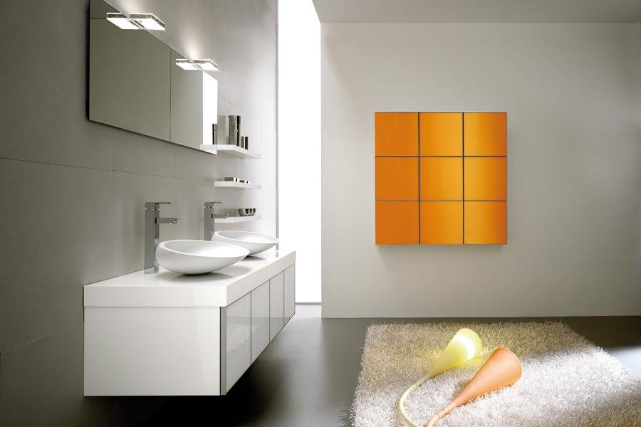Arredo Bagno Moderno Componibile : Foster bagno trasparenze grigio